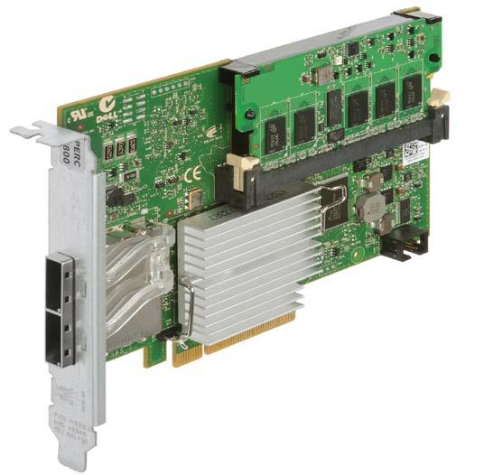 Dell PERC H800 Controller Card (Hardware RAID 0, 1, 5, 6, 10, 50, 60)