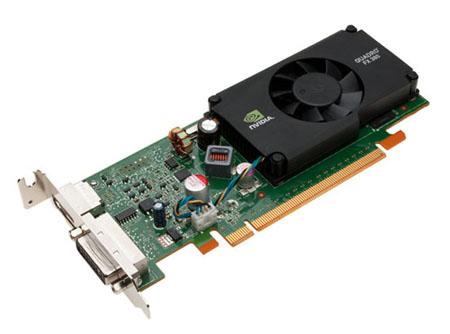 NVIDIA Quadro FX 380 LP 512MB 64-bit GDDR3 PCI Express 2.0 x16 Low Profile Workstation Video Card