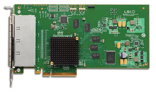 LSI SAS 9200-16e 4x 6Gbps external connetor, PCI-E Host Bus Adapter