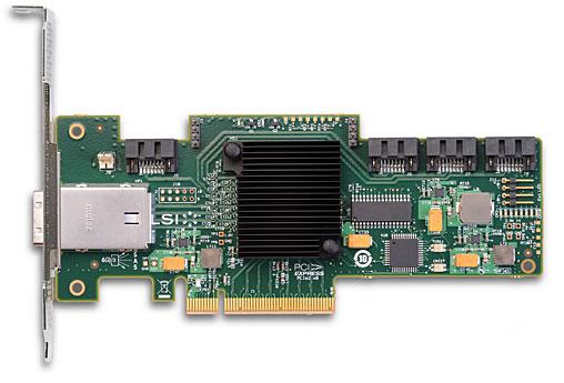 LSI SAS 9212-4i4E 2x 6Gbps connetor, PCI-E Host Bus Adapter