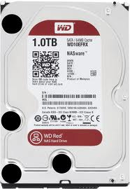 Ổ Cứng HDD Western Digital Red 1TB IntelliPower SATA3 6.0Gb/s 64MB 3.5inch