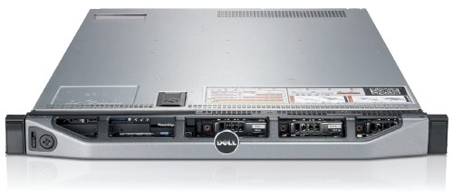 DELL™ 1U CHASSIS R620 Redundant 750W