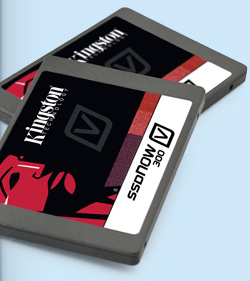 Kingston Digital 240GB SSDNow V300 SATA III 6Gb/s 2.5inch Solid State Drive