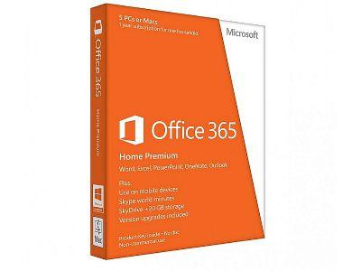 Office 365 Home Premium 32-bit/x64 English Subscr 1YR APAC EM Medialess