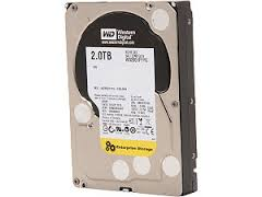 2TB Western RE Enterprise SAS 6Gb/s 7200RPM 32MB Cache 3.5 Inch