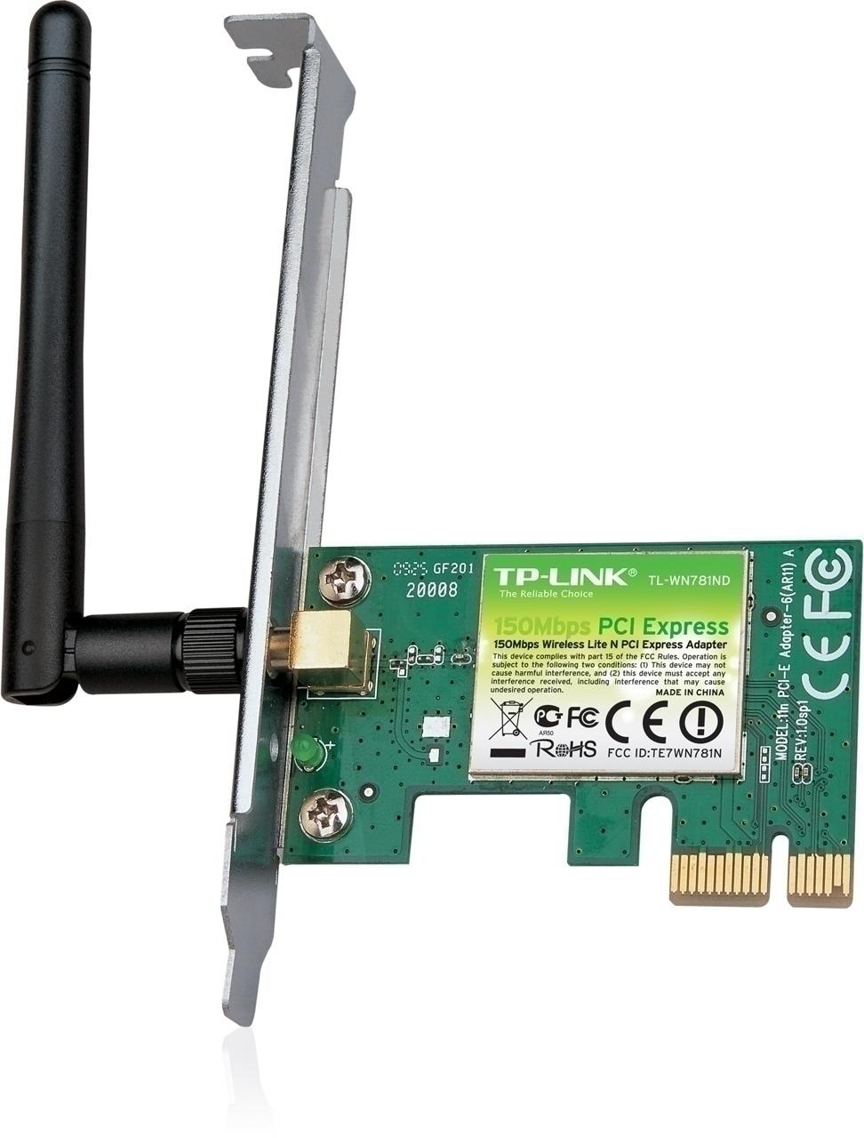 TPlink TL-WN781ND PCI - Express 1x Wireles