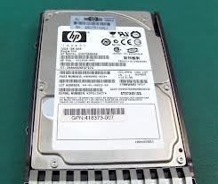 Ổ Cứng HDD HP 72GB 2.5inch SFF 3G Single Port SAS 15K RPM Hot Plug Hard Drive
