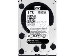 Western Digital Black 1TB 7200RPM SATA 6.0Gb/s 64MB 3.5 Dual Processor