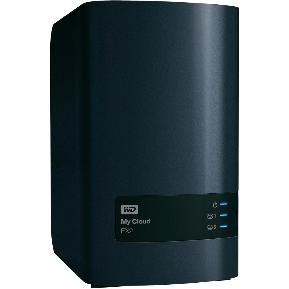 WD MY CLOUD EX2 4TB CHARCOAL MULTI-CITY ASIA