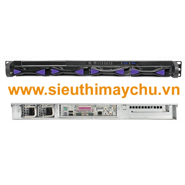 Chassis SN104H-R550 - 2x550W Power Supply