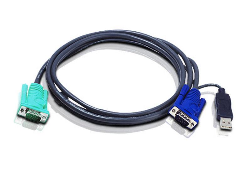 ATEN 2L-5205U USB KVM Cable