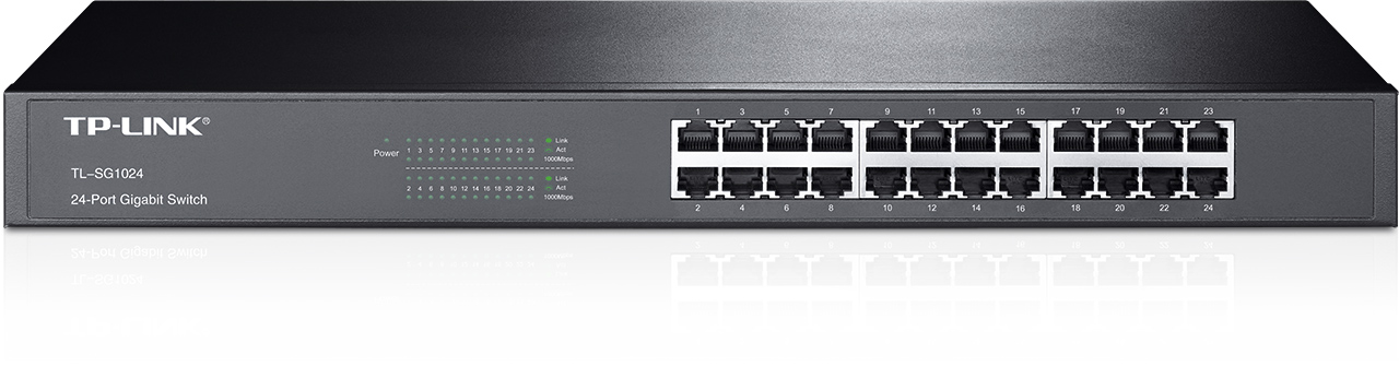 Thiết Bị Mạng Switch TP-LINK 24 Port Gigabit Easy Smart TL-SG1024 10/100/1000Mbps
