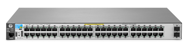 HP 2530-48G-PoE+-2SFP+ Switch (J9853A)