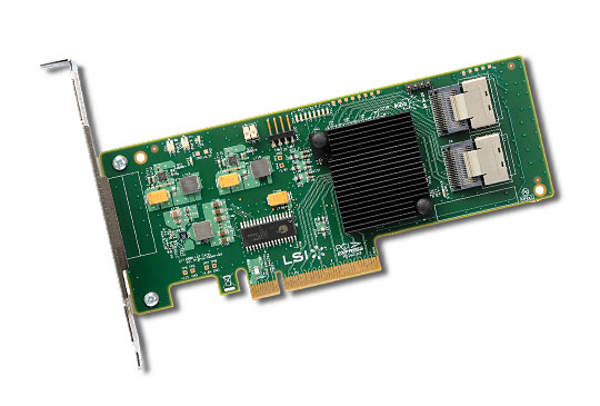1 x Controller Raid Hardware (0, 1, 5, 10 and 50)  Support 16 SAS/SATA with Expander