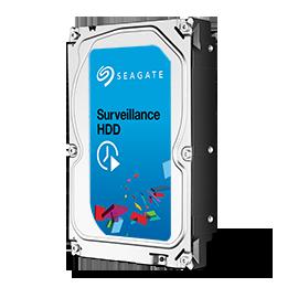 2TB Seagate® Surveillance HDD SATA 6Gb/s 64MB 3.5in