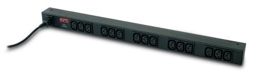 Rack PDU,Basic,Zero U,10A,230V, (15)C13