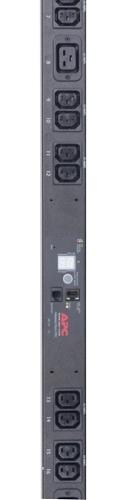 RackPDU,Metered,ZeroU,16A,230V,(20)C13 &(4)C19; IEC C20