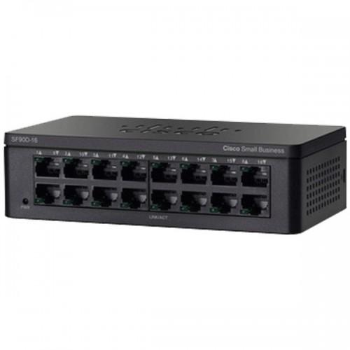 Thiết Bị Mạng Switch Cisco 16 Ports 10/100 Desktop SF95D-16