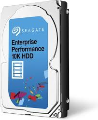 900GB Seagate® Enterprise SAS 512E 12Gb/s 10.000 RPM 128MB 2.5in