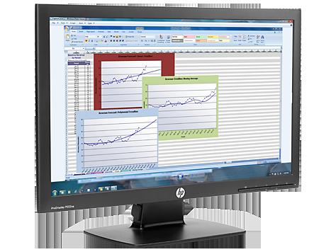 "Monitor LCD HP ProDisplay P222va 21.5"" LED"