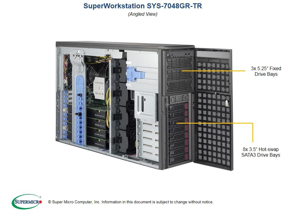 SUPERWORKSTATION SYS-7048GR-TR