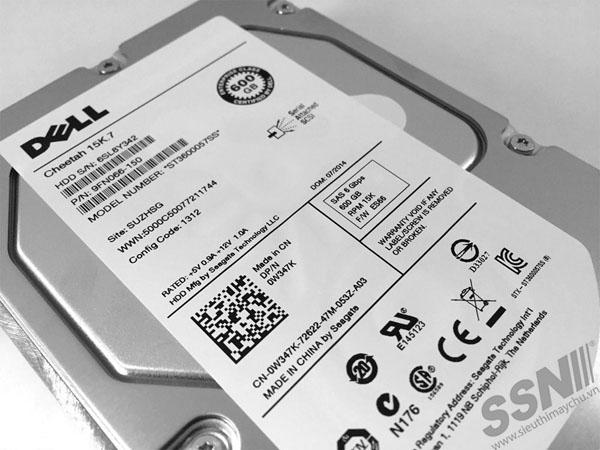 Ổ Cứng HDD DELL 600GB 15K 6G SAS 3.5inch Hard Drive