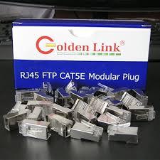 Đầu bấm cáp mạng Rj45 Golden Link FTP CAT5E