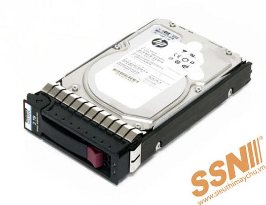 Ổ Cứng HDD HP 2TB SAS 7.2K 3.5inch HSW 6Gbps Dual Port