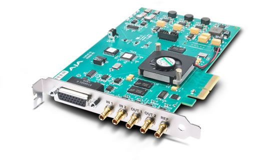 CORVID 22 4-LANE PCIE CARD WITH 2-IN / 2-OUT SD / HD / 3G SDI