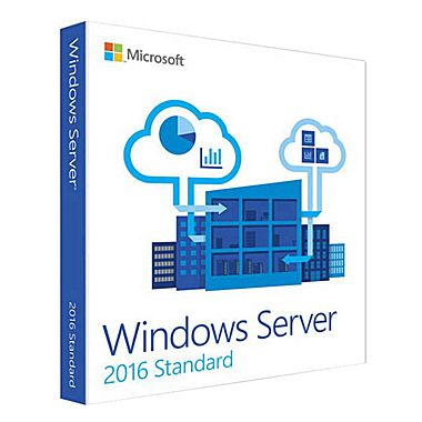 Windows Svr Std 2016 64bit English 1pk DSP OEI DVD 16 Core