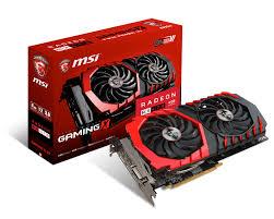 MSI Radeon RX 470 DirectX 12 RX 470 GAMING X 4G 4GB 256-Bit GDDR5 PCI Express 3.0 x16 HDCP Ready CrossFireX Support ATX Video Card
