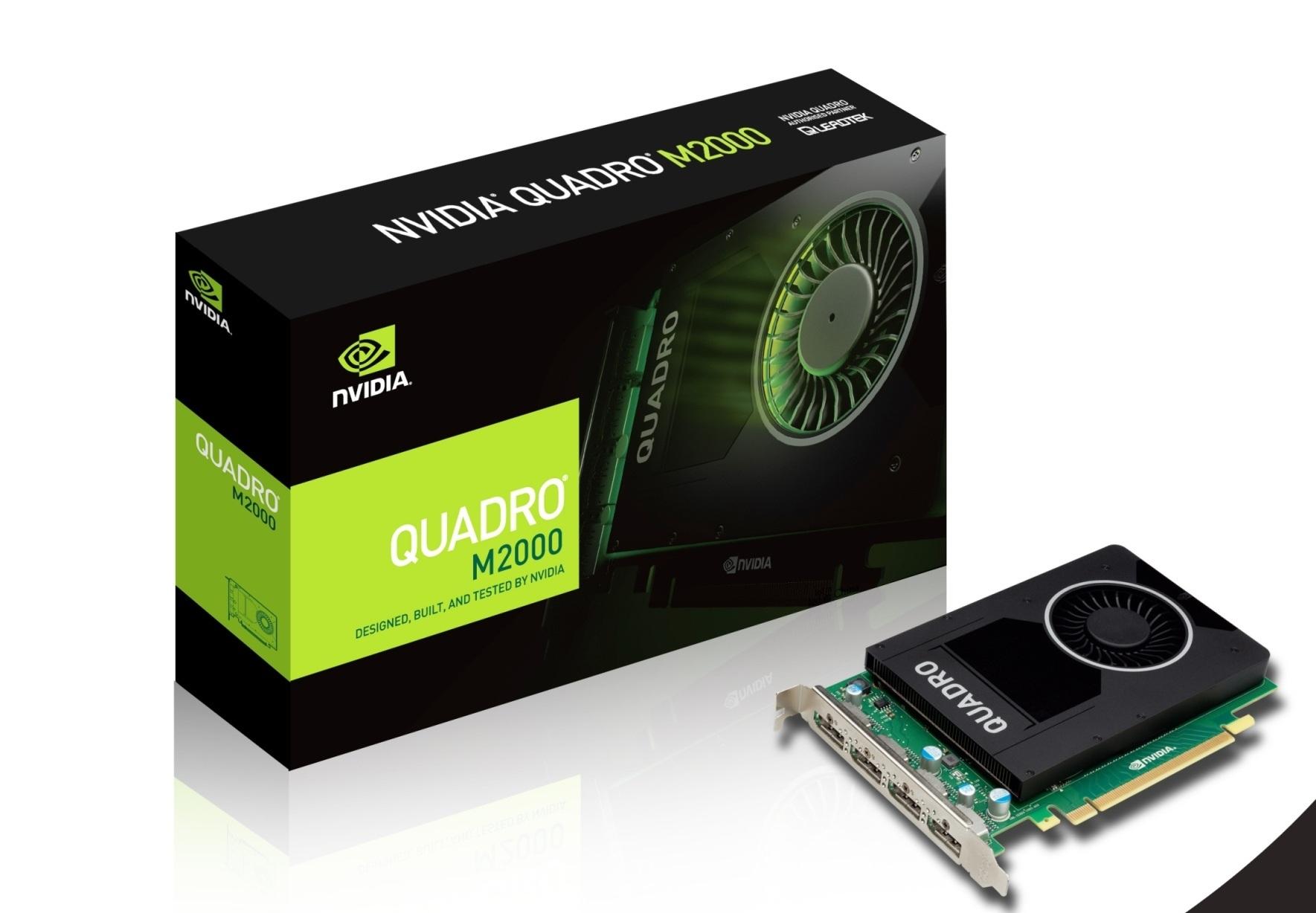 NVIDIA Quadro M2000 graphics card - Quadro M2000 - 4 GB