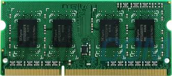 4Gb DDR3-1600 unbuffered So-DIMM 204pin CL=11 1.35V / 1.5V