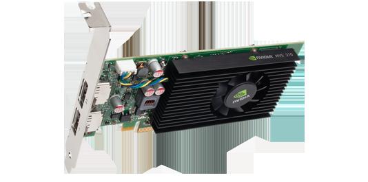 NVIDIA NVS 310 512MB x16 for Dual DP