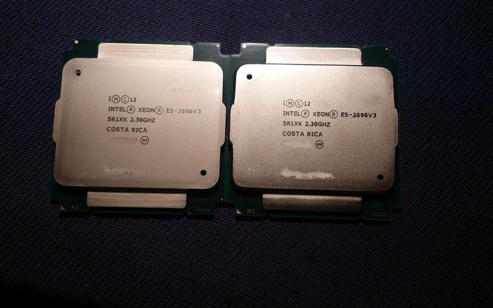 Intel Xeon E5-2696v3 Sr1xk 18-core 2.3ghz 45mb Cache Processor CPU