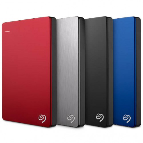 Seagate® Backup Plus Slim Portable Drive 1TB RED