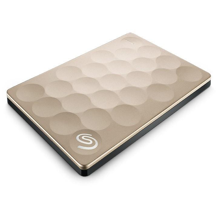 Seagate® Backup Plus Portable Drive 1TB Ultra Slim Gold NEW!