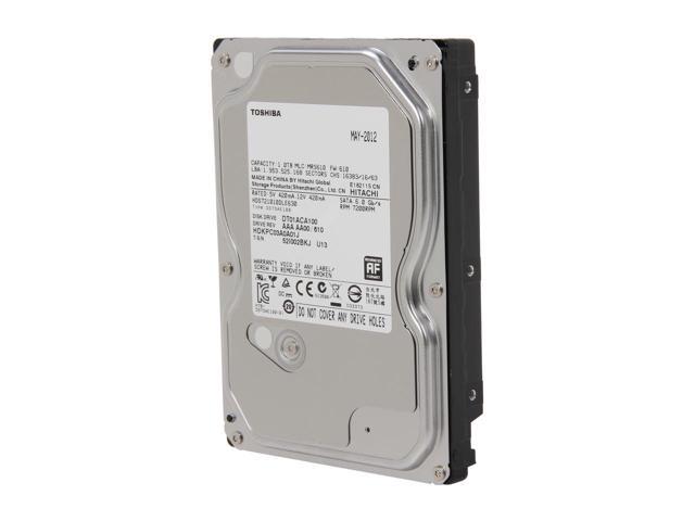 Ổ Cứng Toshiba 1TB 7200RPM 32MB Cache SATA 6.0Gb/s 3.5inch Internal Hard-Drive Bare