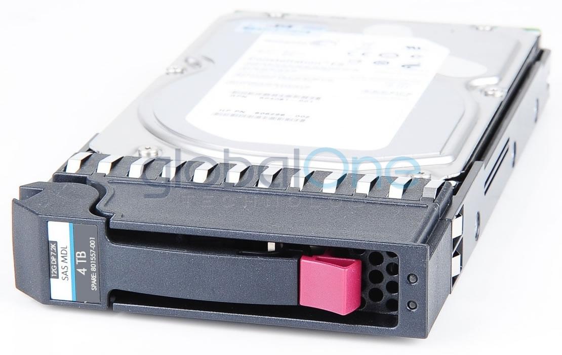 HP 801557-001 Drive HD MSA 4TB 12G 7.2K 3.5 SAS MDL-OEM