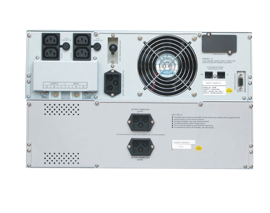 Bộ Lưu Điện UPS Santak True Online 6KVA Rackmount C6KR