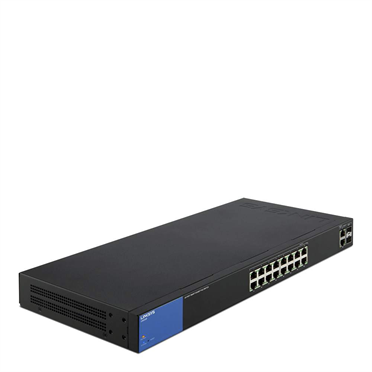 18-Port Business Smart Gigabit PoE+ Switch LINKSYS LGS318P