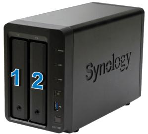 Thiết Bi Lưu Trữ NAS Synology DS718+