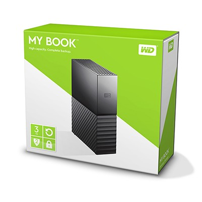 Ổ cứng ngoài WD My Book 6TB usb 3.0 new 2016