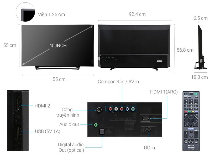 Tivi Sony 40 inch KDL-40R350E