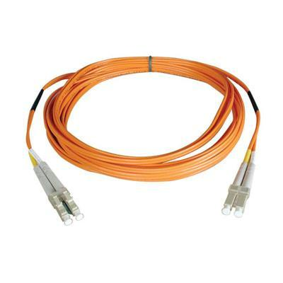 AMP Fiber Optic Cable Assembly, Duplex LC to Duplex SC, OS2, 3m
