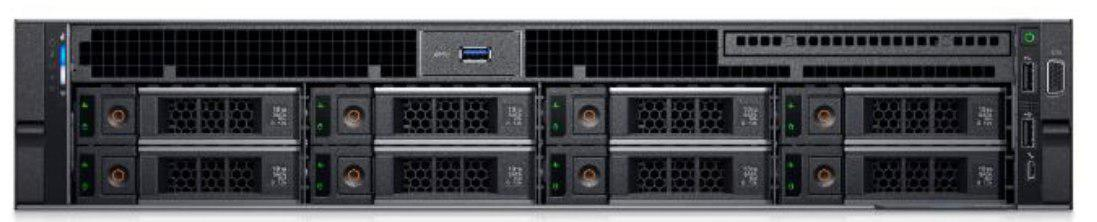 DELL™ CHASSIS R740 - 8x 3.5inch - 2x750W Power Supply