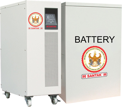 Nguồn lưu điện 15KVA UPS SANTAK 3C15KS