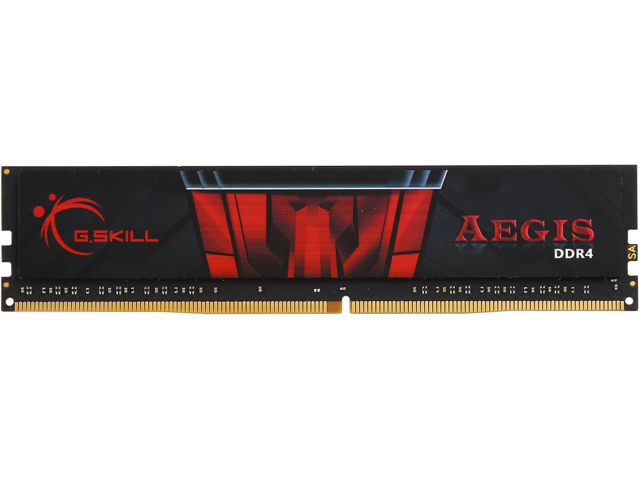 Ram G.Skill Aegis DDR4/4GB/2400Mhz - (F4- 4G/2400 AEGIS)