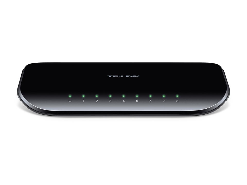 Thiết Bị Mạng Switch TP-Link 8 Ports Gigabit 10/100/1000Mbps TL-SG1008D