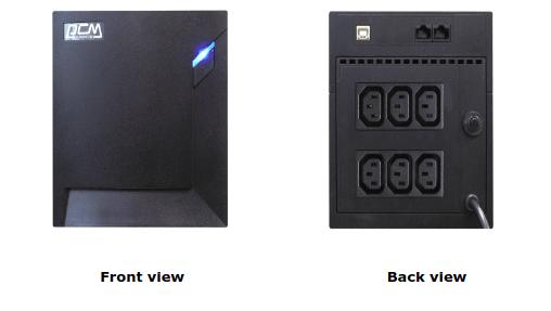 Bộ Lưu Điện Powercom 1500VA Line Interactive RPT-1500AP